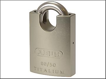 ABUS 90RK/50 Titalium Padlock Closed Stainless Steel Shackle Carded