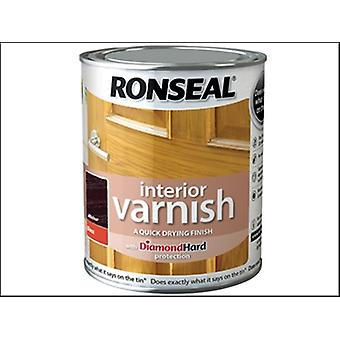 Ronseal Interieur Lack Quick Dry Gloss Walnuss 250ml