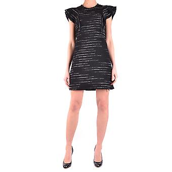 Pinko svart akryl klänning