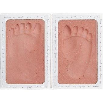 Lief baby herinneringen - tipitoe - footprint - meisje