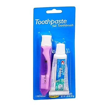 Colgate complete toothpaste and toothbrush, 1 ea