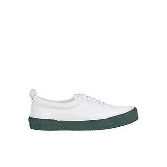 Céline White Fabric Sneakers