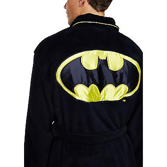 DC Comics Batman Adult Fleece Dressing Gown  - ONE SIZE