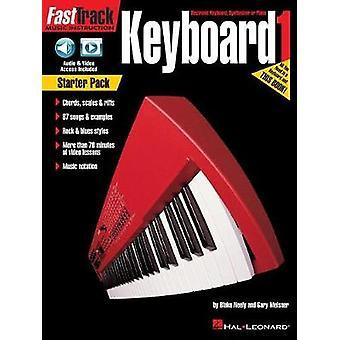 FASTTRACK KEYBOARD BOOK 1 STARTER PACK KEYBOARD BOOK/MEDIA ONLINE by