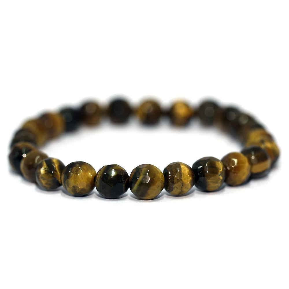 Yellow Tiger Eye Faceted Bracelet