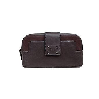 Status Anxiety Elsa Wallet Chocolate Brown
