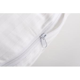 Snipe sag hvid satin til kroppen Pillow Eleonora U-form