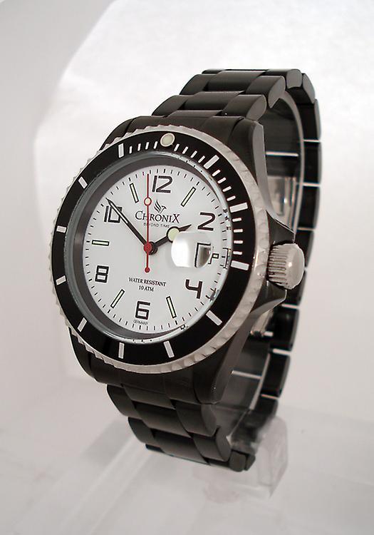Chronix Sport Style Herrenuhr Black Ivory (CHR21382-SBIWH)