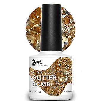 2AM London Paint Me A Festival 2019 LED/UV Gel Polish Collection - Glitter Bomb 7.5ml (2E006)