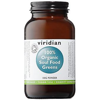 Viridian Soul Food greener pulver organiska 100g (282)