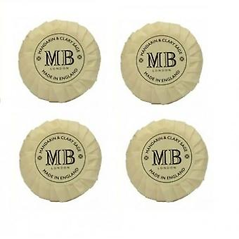 8 x Molton Brown Mandarin & Clary Sage Soap 8x50g Individually Wrapped