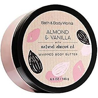 Bath & Body Works Almond & Vanilla Whipped Body Butter 6.5 oz / 185 g