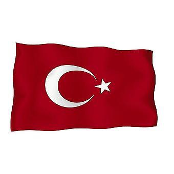 Autocollant Sticker Drapeau Turquie Turque  Moto Voiture Adhesif Vinyl Vinyle
