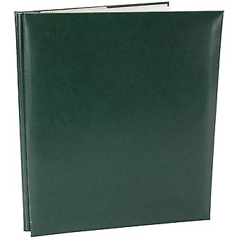 Simili cuir Post lié Album 8.5 « X 11 »-vert MB811-60114