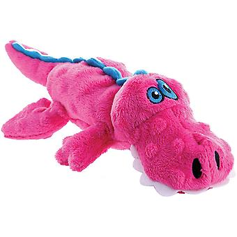 goDog Just For Me with Chew Guard Small-Pink Gator 770946
