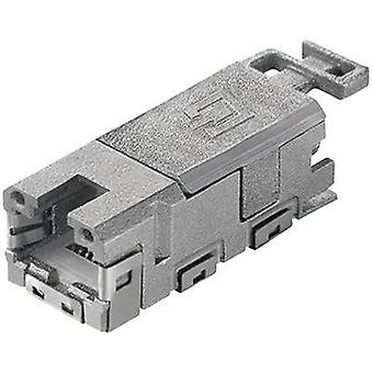 Telegärtner J80029A0001, Pin Socket de RJ45, recto