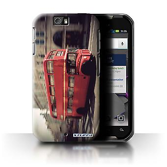 STUFF4 Case/Cover for Motorola IronRock/XT626/Red Bus/London England
