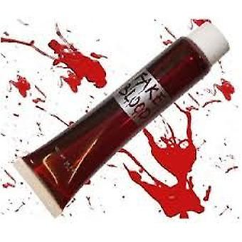 2 X Fake Red Blood in a tube Halloween FANCY DRESS ACCESSORIES
