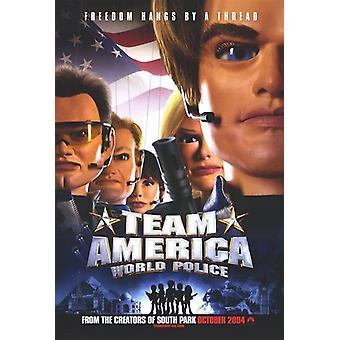 Equipo América mundo policía Movie Poster (11 x 17)