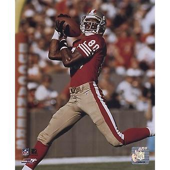 Jerry Rice - över axeln fånga - 49ers sport foto