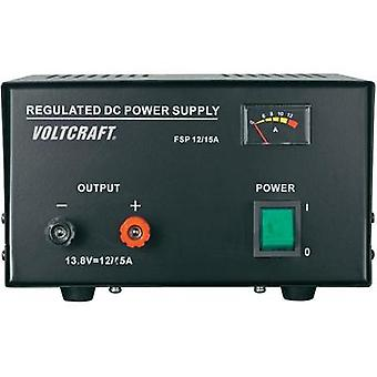 Bench PSU (fixed voltage) VOLTCRAFT FSP-11312 13.8 Vdc 12 A 165 W No. of outputs 1 x