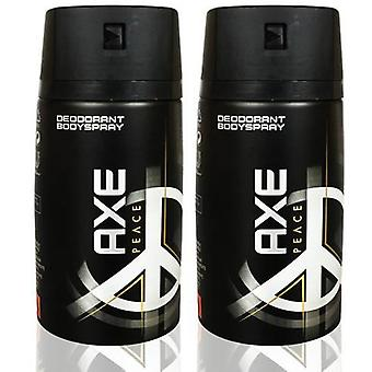Axe Duplo Peace Deodorant Spray (Man , Cosmetics , Body Care , Deodorants)