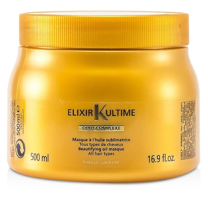 Kerastase Elixir Ultime Oleo-Complexe Beautifying Oil Masque (For All Hair Types) 500ml/16.9oz