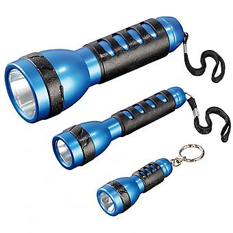 HAMA Flashlight FL-130 LED 3-pack blue