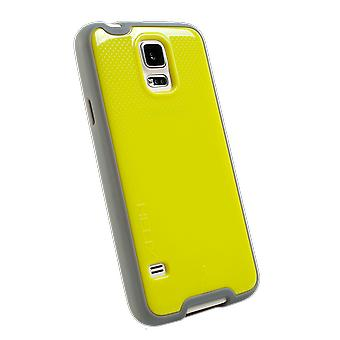 WirelessOne Helix Case for Samsung Galaxy S5 (Lime Green/Grey)