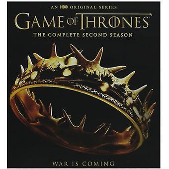 Spillet af troner: komplet anden sæson [Blu-ray] USA importen