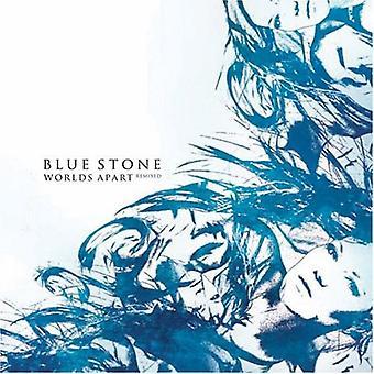 Blå sten - verdener Apart remixet [CD] USA importerer