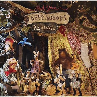 Rødt garn - dyb Woods Revival [Vinyl] USA importerer
