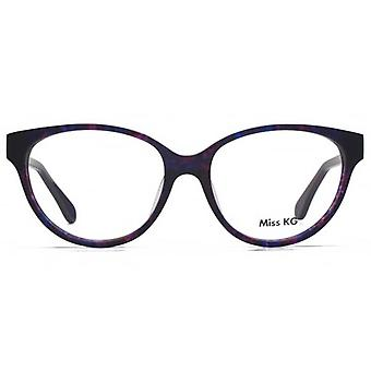 Miss KG Dory Glam Cateye Brille In lila Demi
