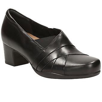 Clarks Rosalyn Adele Extra Wide Womens Smart Shoes