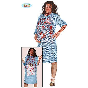 Obsessive woman costume Exorcist pregnant alien women's costume