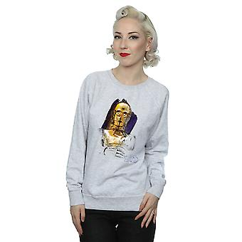 Star Wars Women's The Last Jedi C-3PO Brushed Sweatshirt