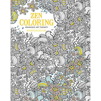 Guild Of Master Craftsman Books-Design Collection Zen Coloring GU-43400