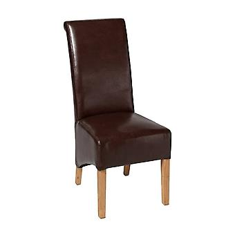 Direct Home Living Cornel Y Chair,dark Brown