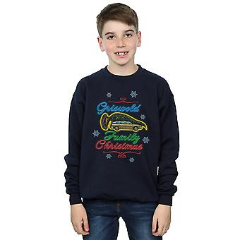 National Lampoon's Christmas Vacation pojkar Griswold Family Christmas Sweatshirt