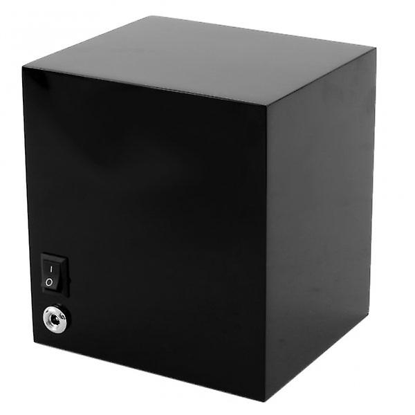 Wolf Designs Lacquered Cub Black Single Watch Winder 1.8