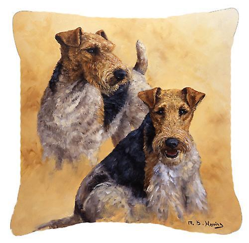 Toile Oreiller Fox Herring Décoratif Terrier Par Michael 9IDWEH2