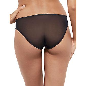 Gossard 13003 Women's Glossies Lace Black Knickers Panty Full Brief