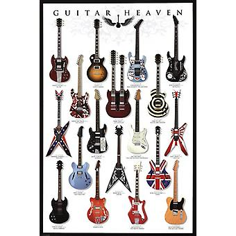 Guitar Heaven Poster Poster Print