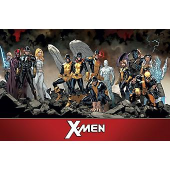 X-Men - Team Poster Poster Print