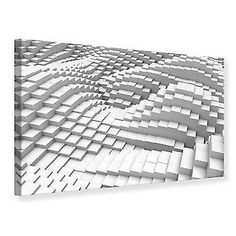 Elementos 3D impresión de lienzo