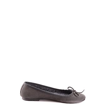 Twin-set ladies MCBI302164O grey LEDER ballerinas