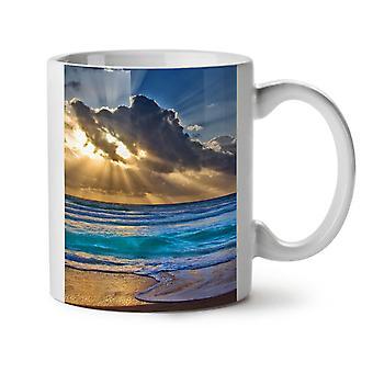 Nature Landscape Water NEW White Tea Coffee Ceramic Mug 11 oz | Wellcoda