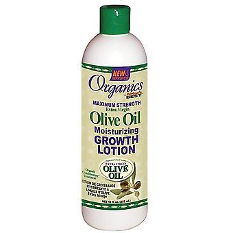 Afrikas bedste økologisk olivenolie vækst Lotion 12oz