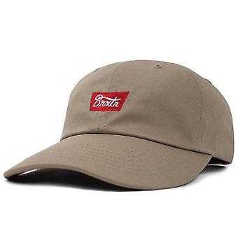 Brixton Stith LP Cap - Khaki / Red
