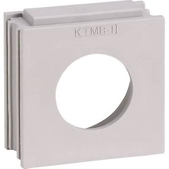 Icotek KTMB-I Cable grommet Terminal Ø (max.) 28 mm Elastomer Grey 1 pc(s)